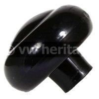 ギアノブ(Black/Ivory)(10mm)