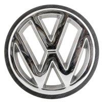 グリルバッジ(VW logo) クロム仕上げ&ブラックエッジ/ゴルフ1カブリオ