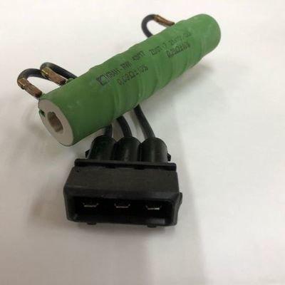画像1: ヒーターブロワーモーター抵抗(エアコン付車)/T4
